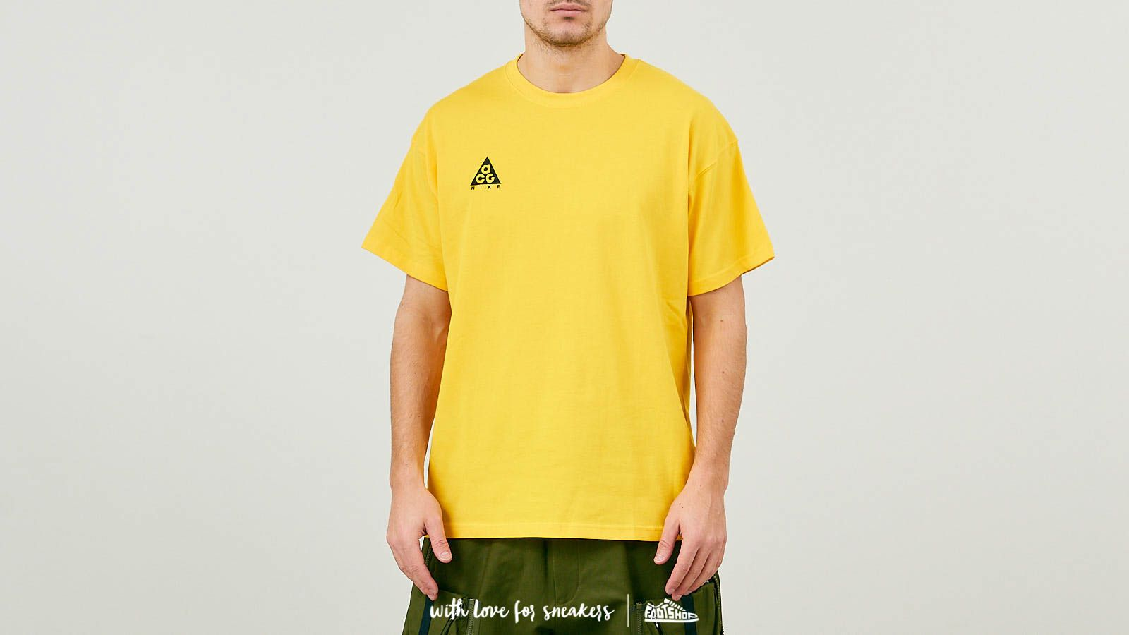 c8351794 Nike ACG Logo Tee NRG Amarillo/ Black at a great price $43 buy at Footshop