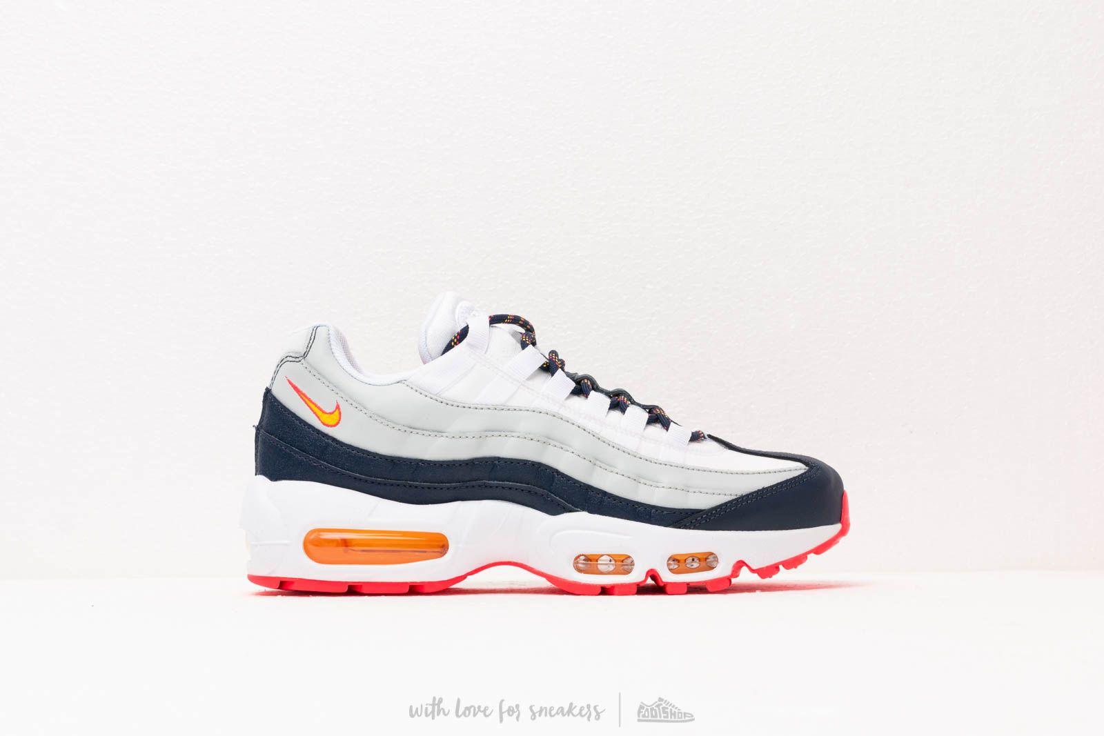 Nike Wmns Air Max 95 Midnight Navy Laser Orange Pure Platinum   Footshop