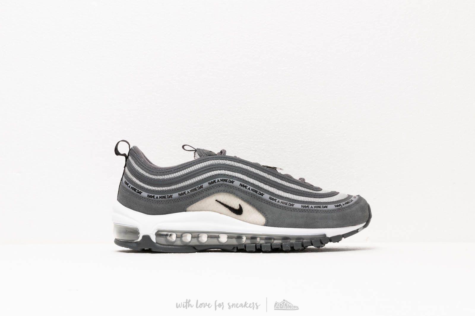 detailed look d529a c8242 Nike Air Max 97 Se (GS) Dark Grey/ Black-Wolf Grey-White | Footshop