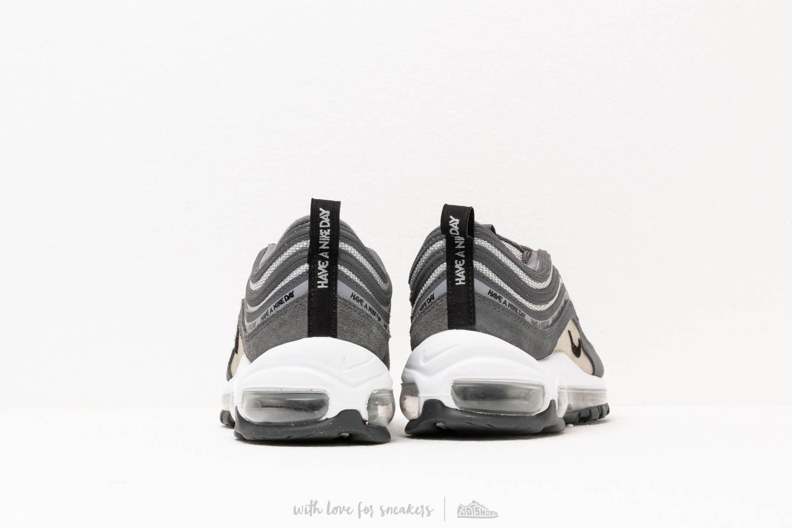 Nike Air Max 97 Se GS Dark Grey Black Wolf Grey White