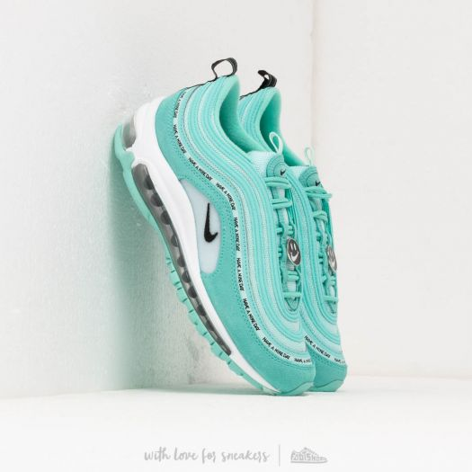 Nike Air Max 97 Se (GS) Tropical Twist Black Teal Tint White | Footshop