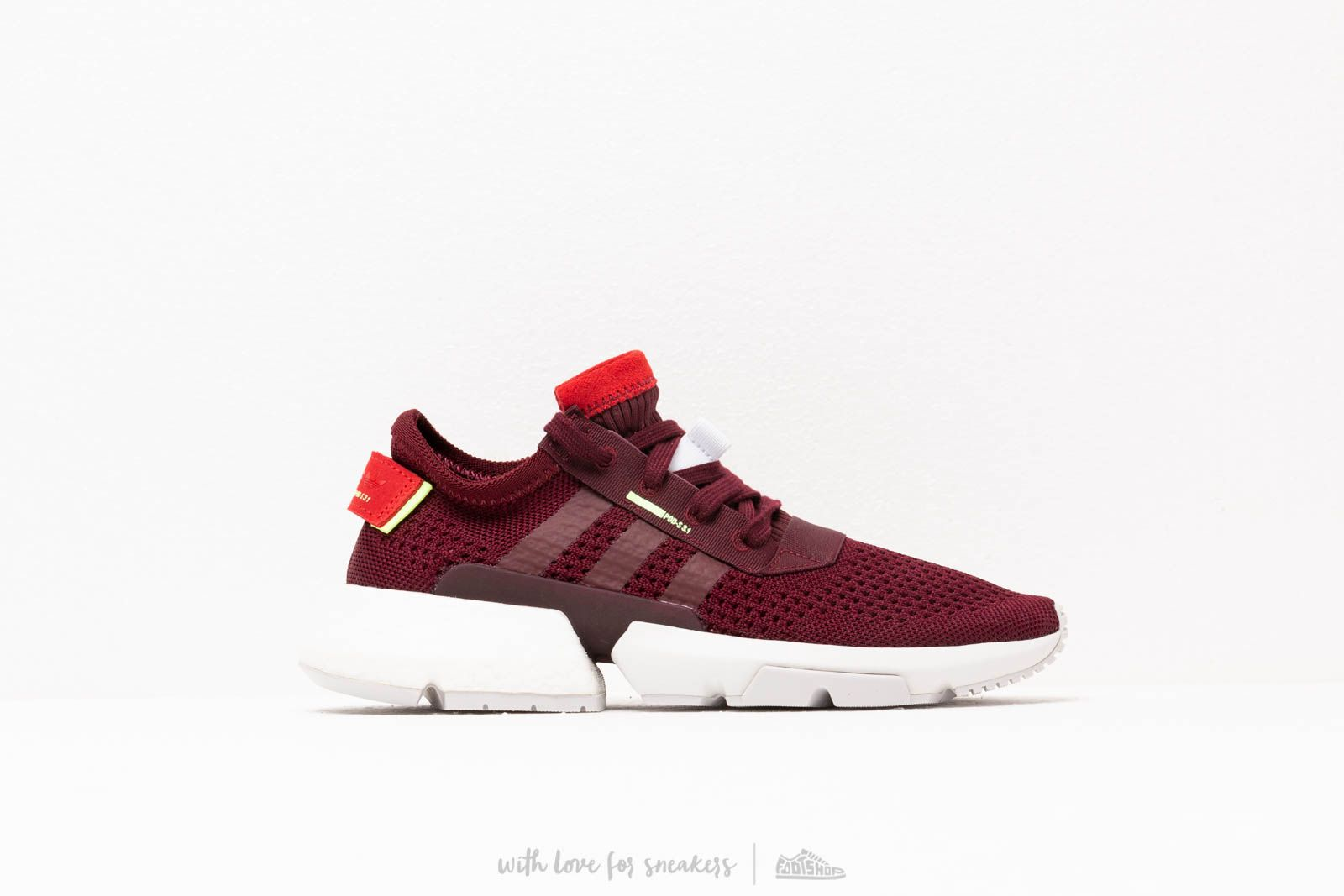 32802be2df4b2 adidas Pod-S3.1 W Maroon  Maroon  Hi-res yellow at
