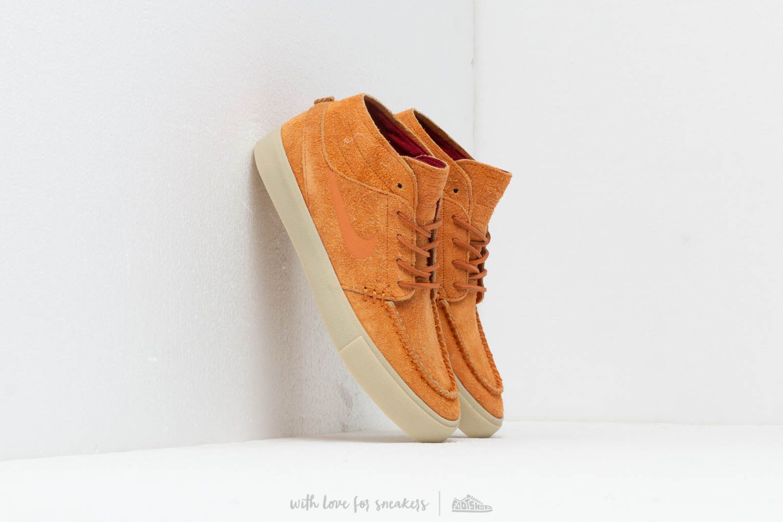 af7dd10594c7 Nike SB Zoom Janoski Mid Rm Crafted Cinder Orange  Cinder Orange-Team Gold  at