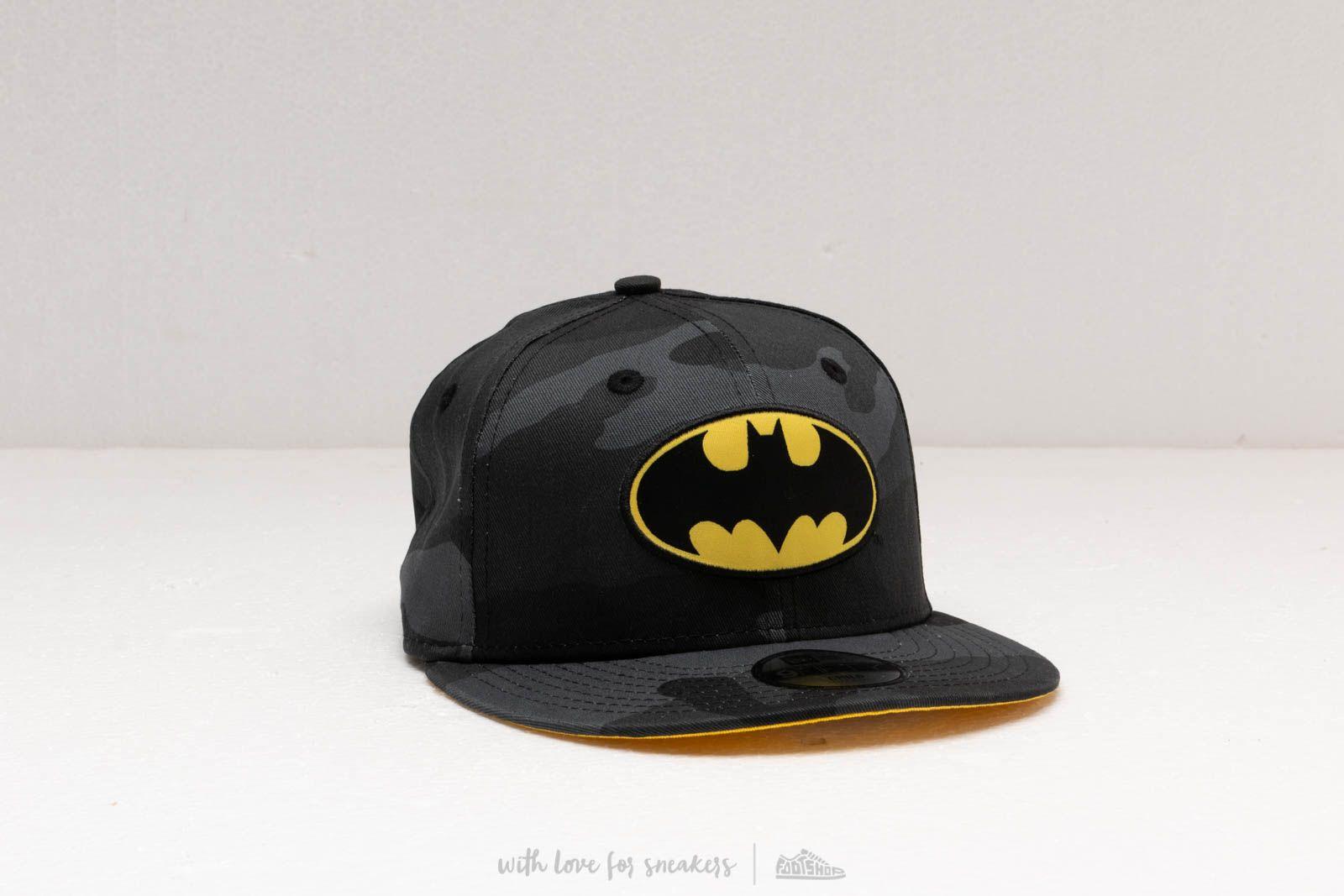 c8c55dee8c5 New Era 9Fifty Child Batman Snapback Grey Camo  Yellow at a great price 28 €