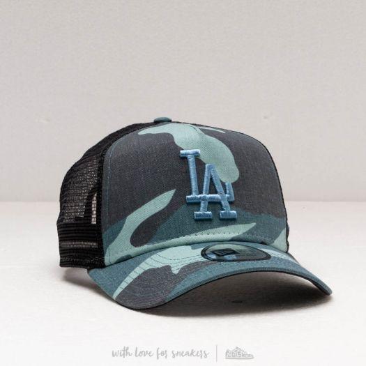 New Era Adjustable Trucker Cap Los Angeles Dodgers camo