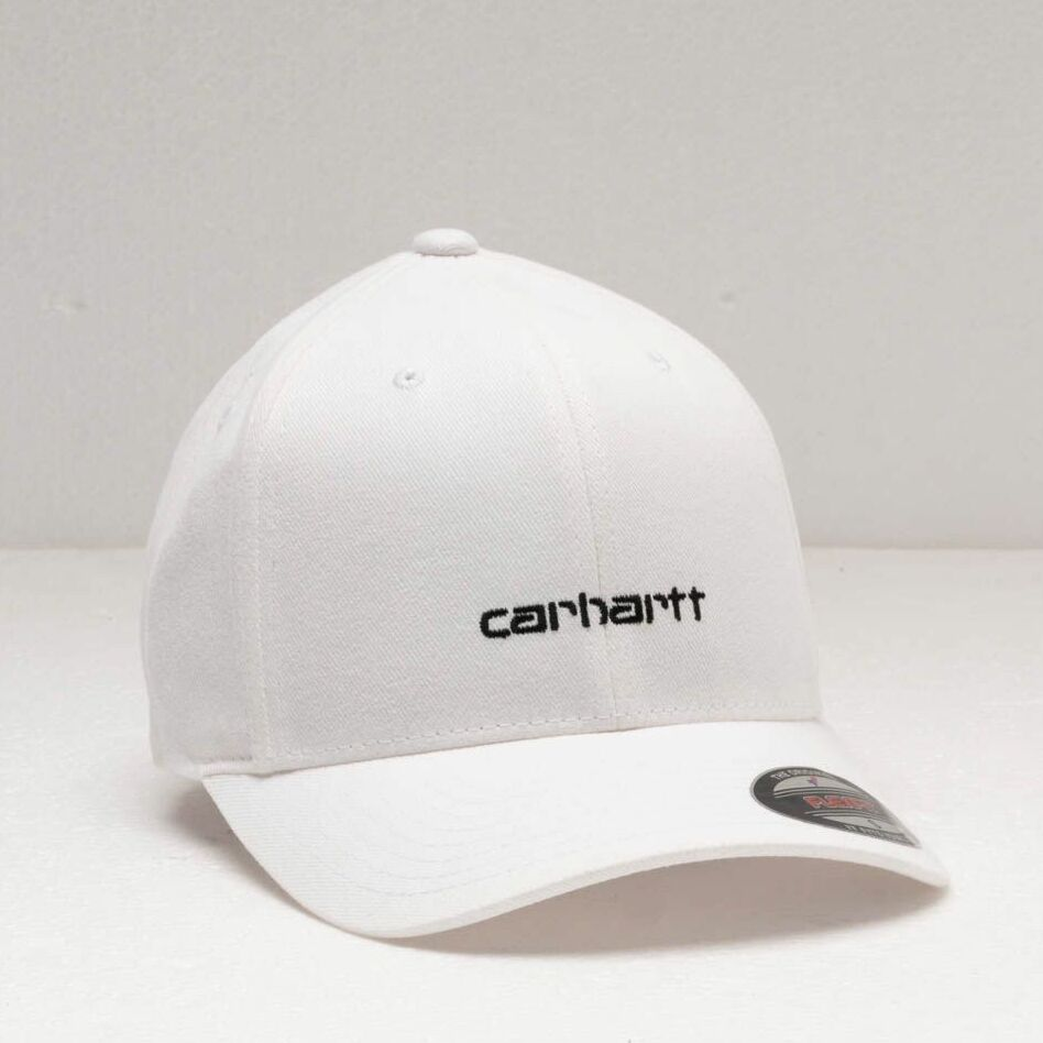 Carhartt WIP Script Cap White/ Black