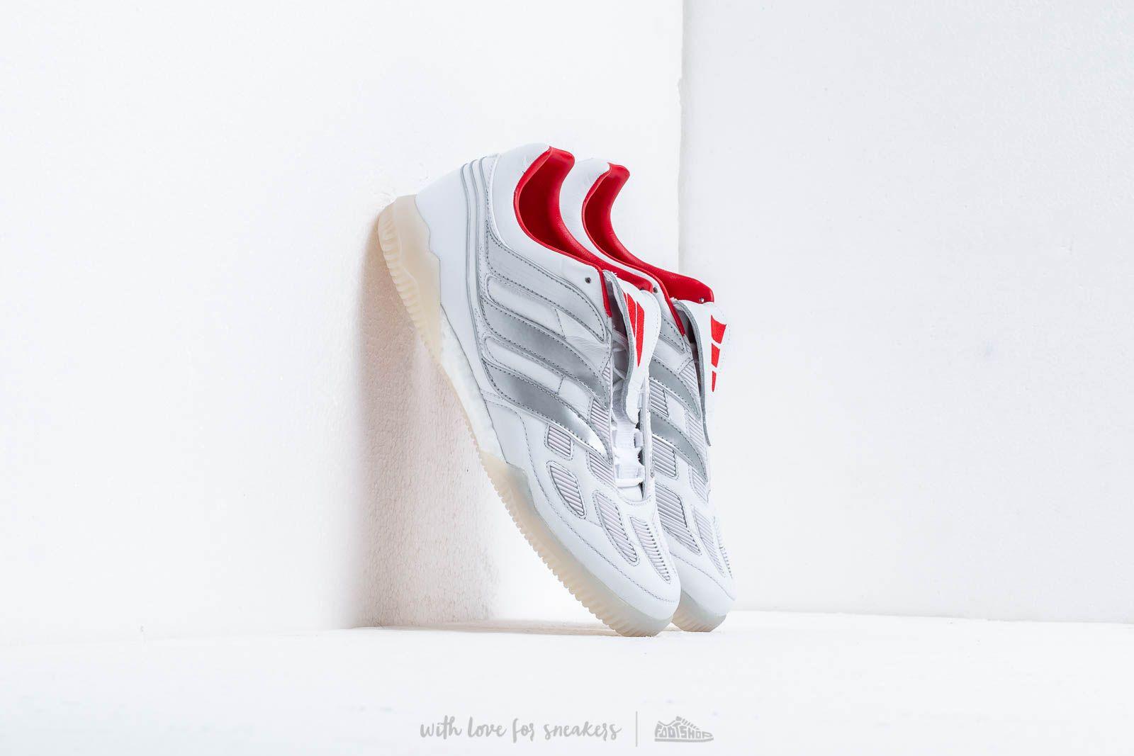 Pánské tenisky a boty adidas Predator Precision TR Ftw White/ Silver Metallic/ Predator Red
