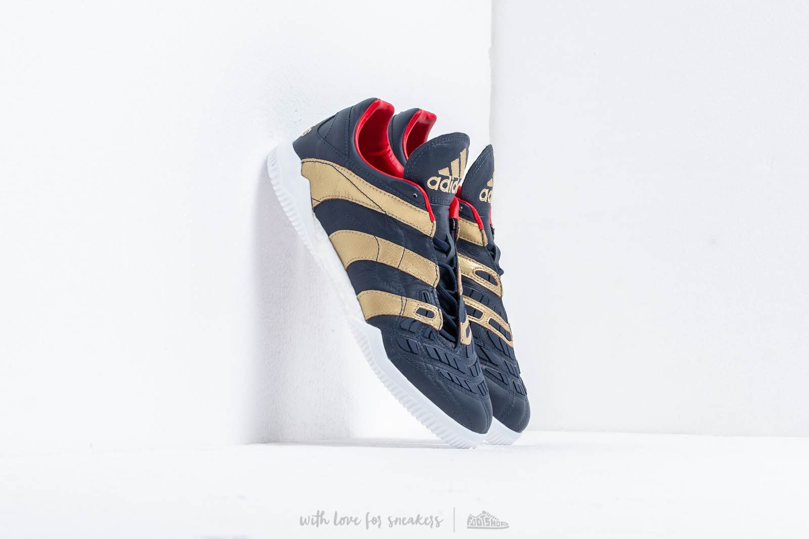 383b2f351329 adidas Predator Accelerator TR Core Navy  Gold Metallic  Predator Red at a  great price