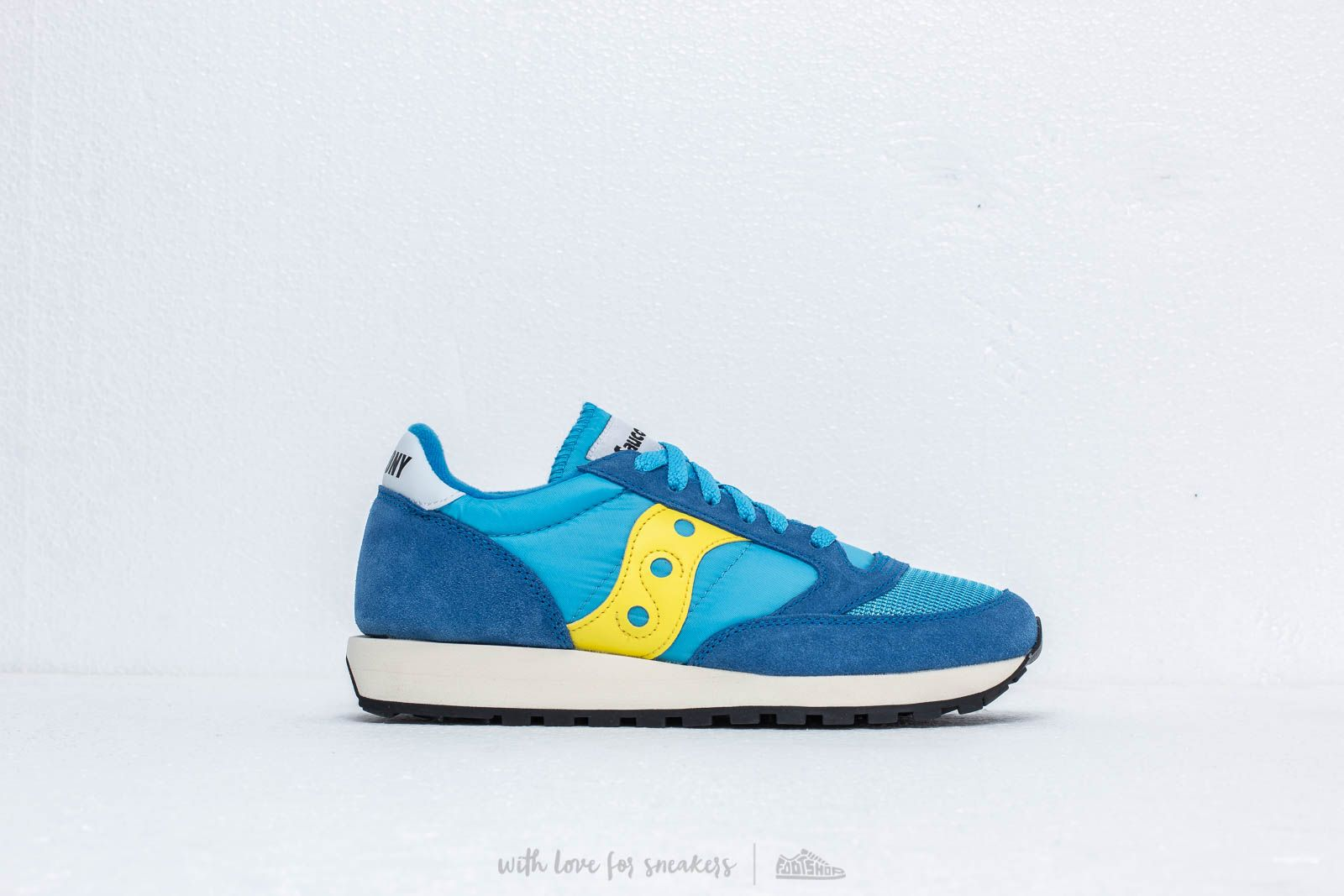 online store 94c5e c7f26 Saucony Jazz Original Vintage Blue  Yellow at a great price 92 € buy at  Footshop