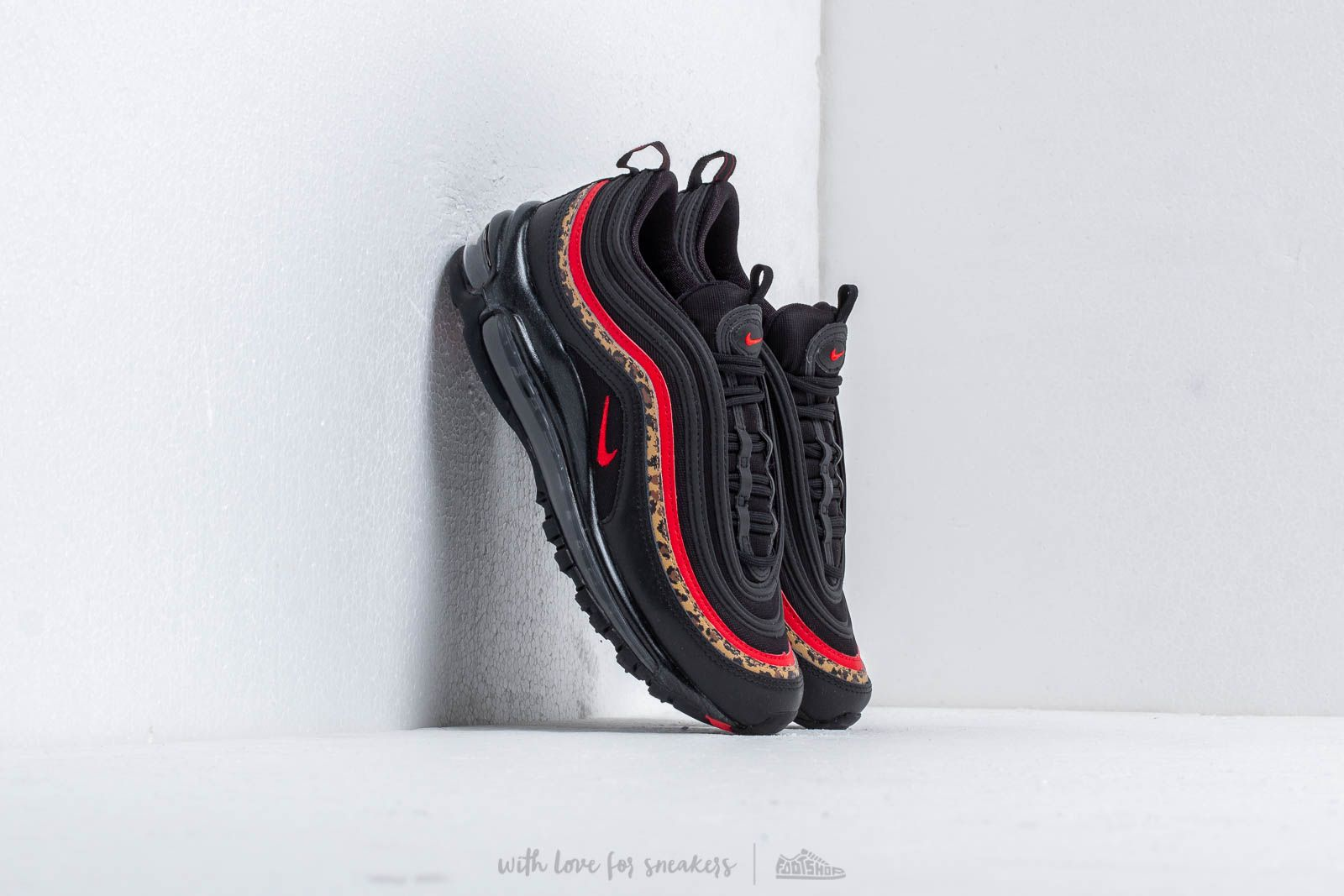 sale retailer 2996e 3aa68 Nike W Air Max 97 Black/ University Red-Print | Footshop