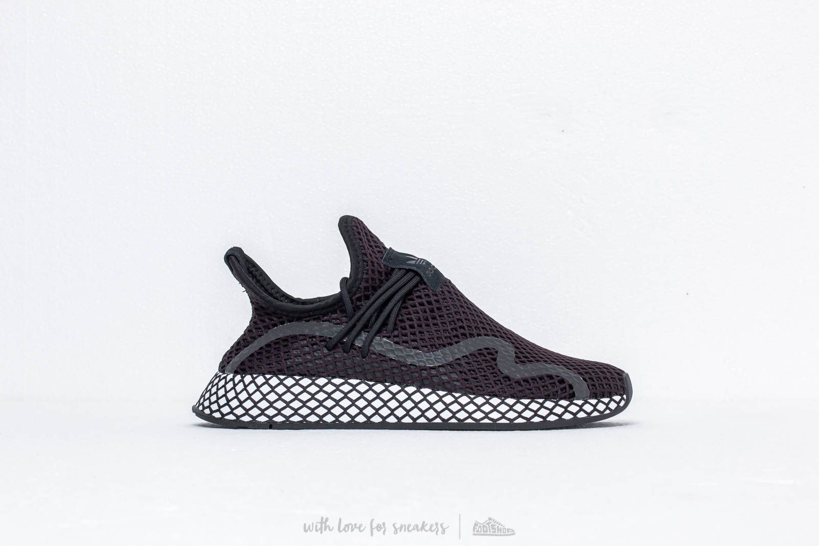 d2e0be1c54e2f adidas Deerupt S Core Black  Core Black  Ftw White at a great price 106