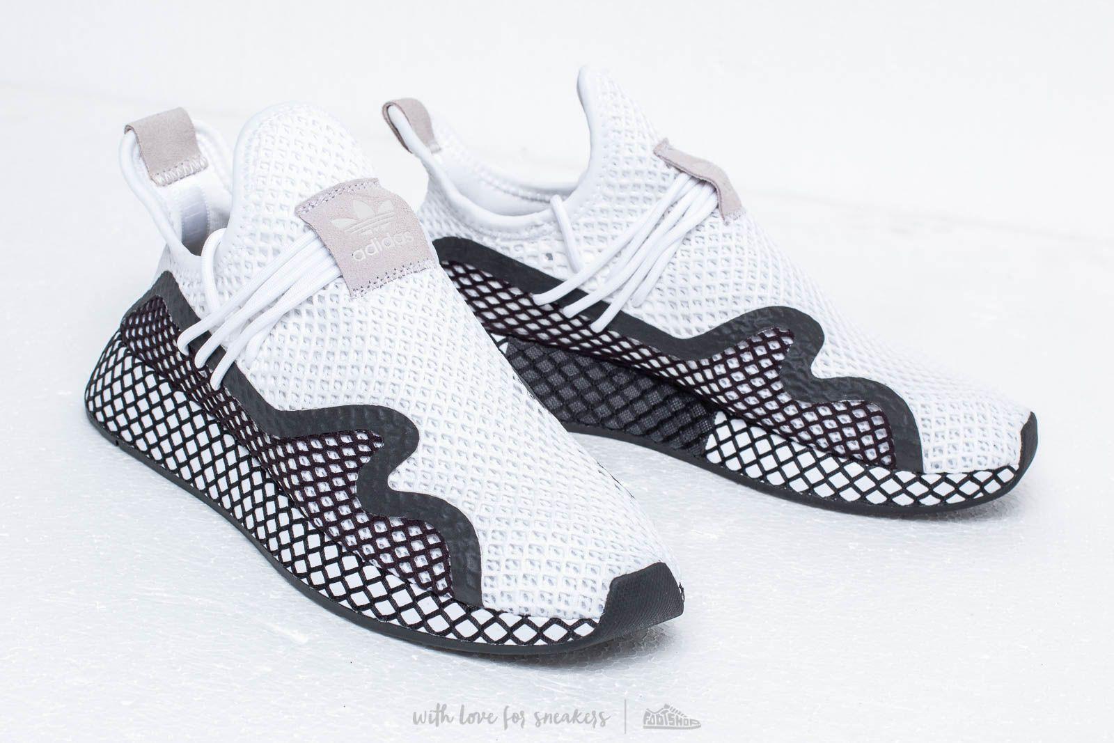 half off 99f69 9cf6e adidas Deerupt S Ftw White Core Black Ftw White a muy buen precio 107