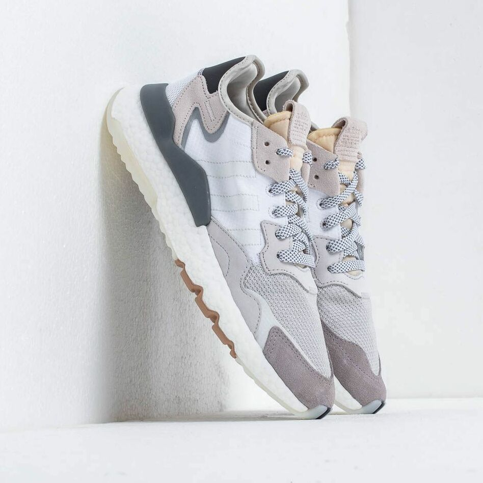 adidas Nite Jogger Ftw White/ Crystal White/ Core Black EUR 44