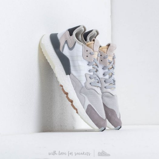 adidas Nite Jogger Ftw White Crystal White Core Black | Footshop