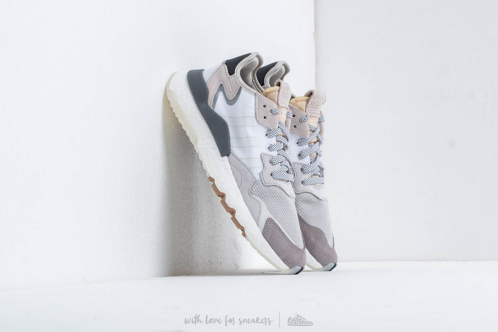 Men's shoes adidas Nite Jogger Ftw White/ Crystal White/ Core Black