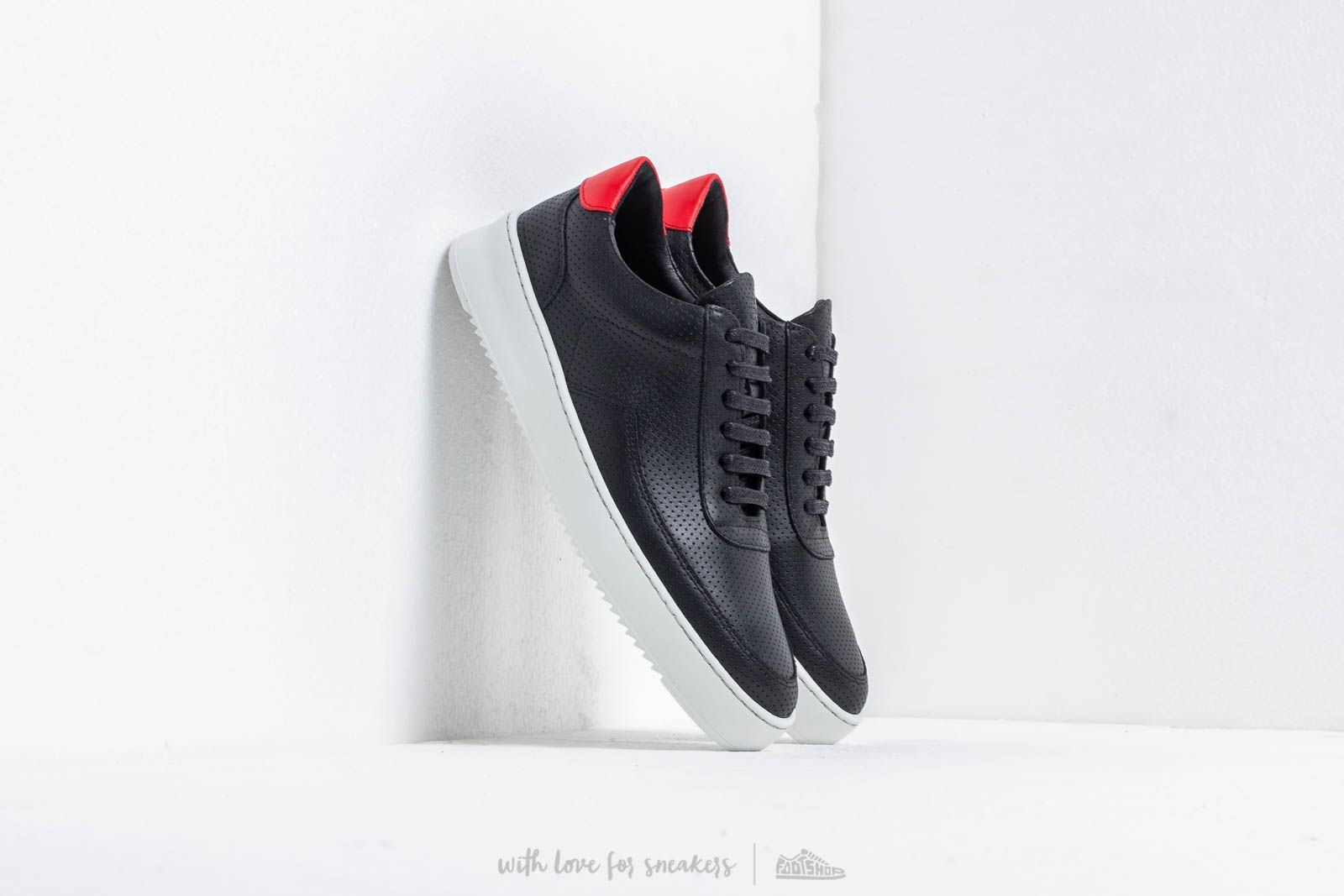 Men's shoes Filling Pieces Low Mondo Ripple Nardo Block Black
