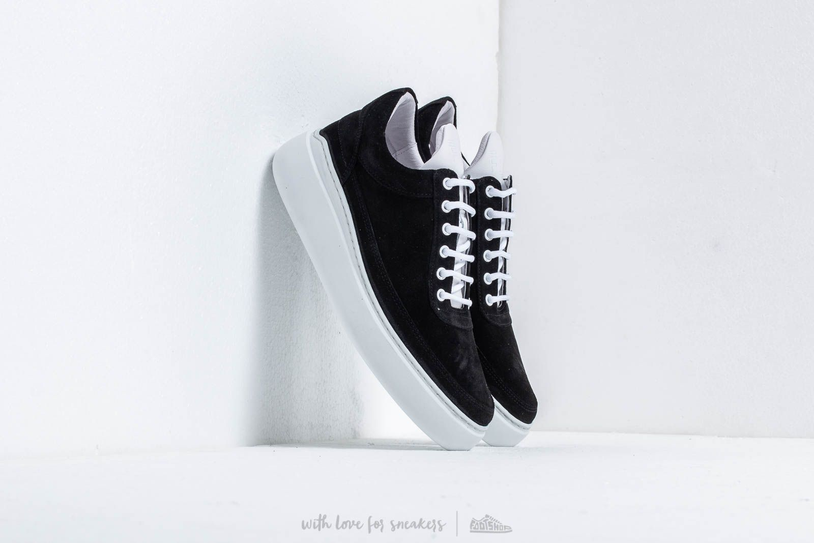 Women's shoes Filling Pieces Low Top Angelica Khromat Black