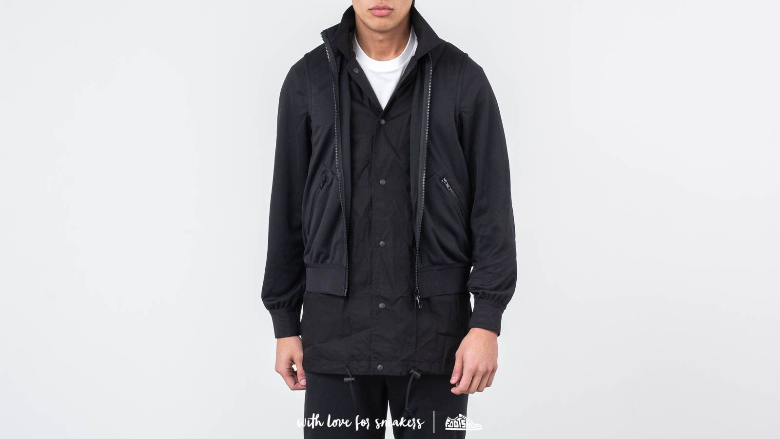 8ca868f093986 Y-3 3 Stripes Reversible Track Jacket Black at a great price 348 € buy