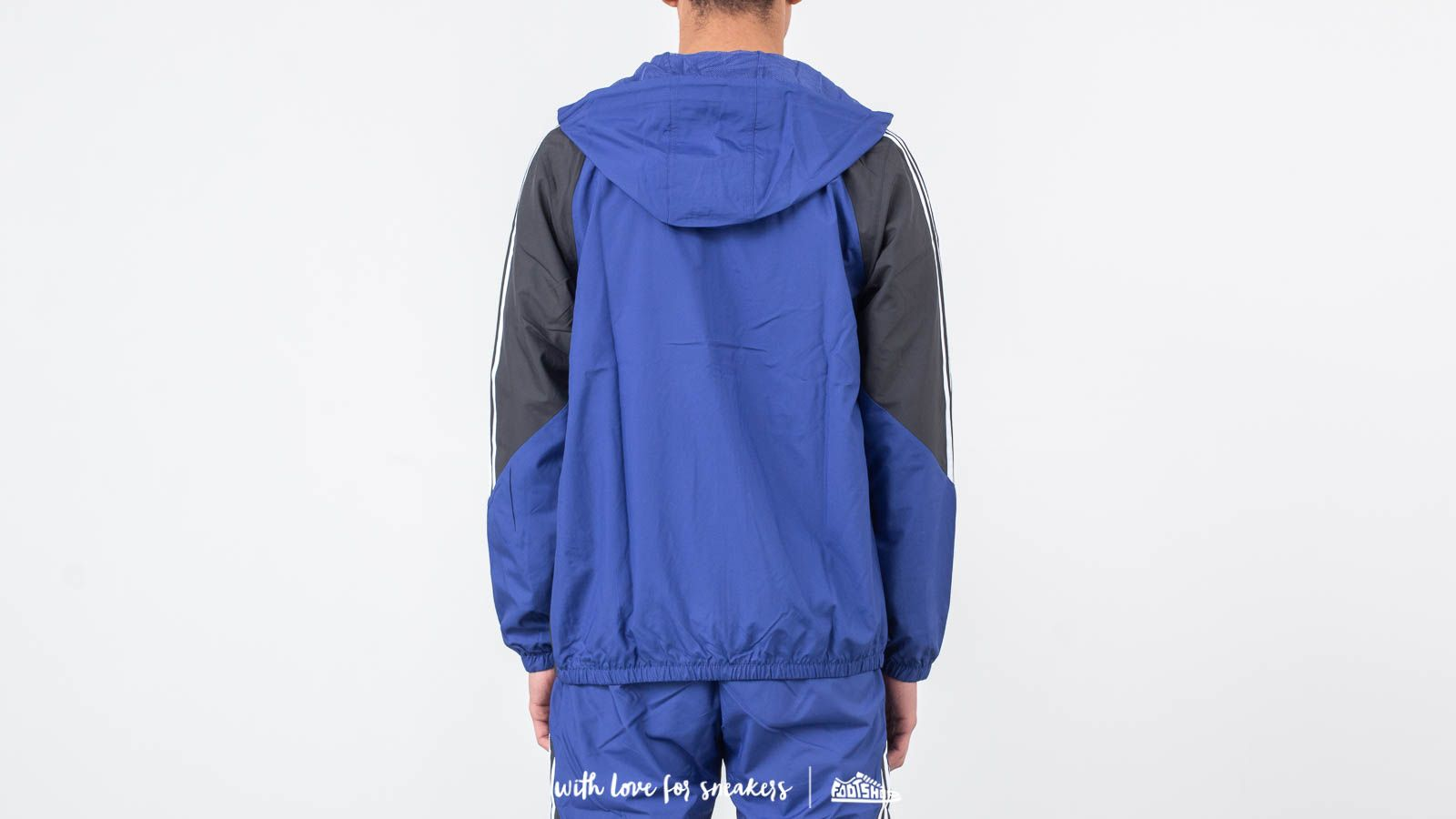 737f7df4a adidas Insley Jacket Active Blue/ DGH Solid Grey/ White at a great price 86