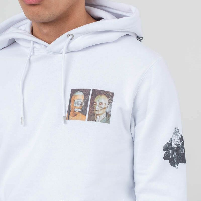 Soulland Lyle Hoodie White