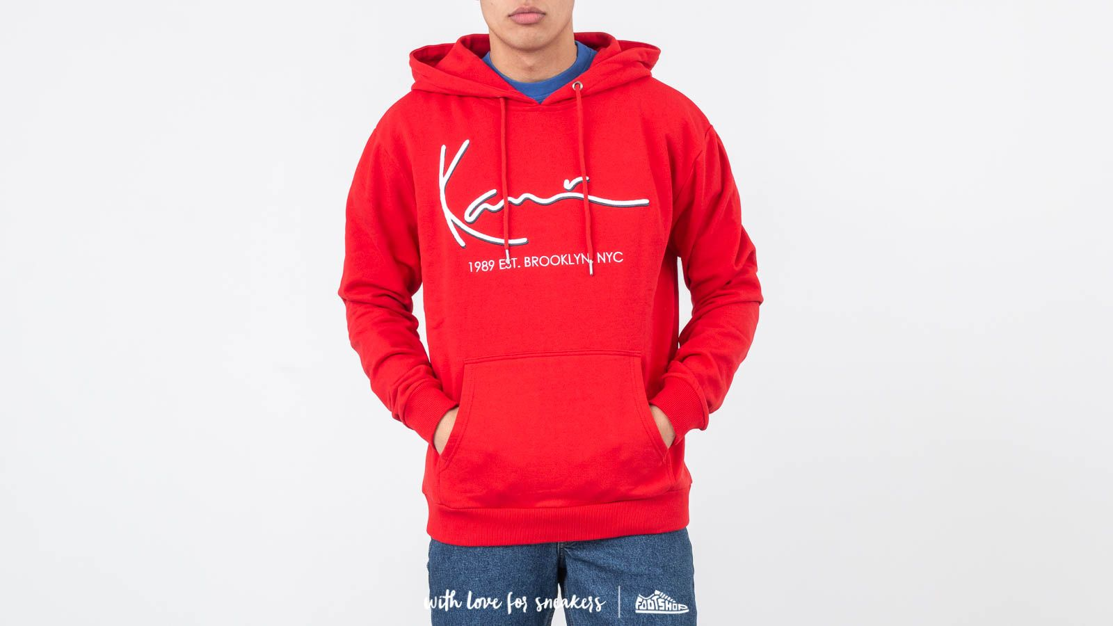Karl Kani Signature Hoodie Red za skvelú cenu 68 € kúpite na Footshop.sk