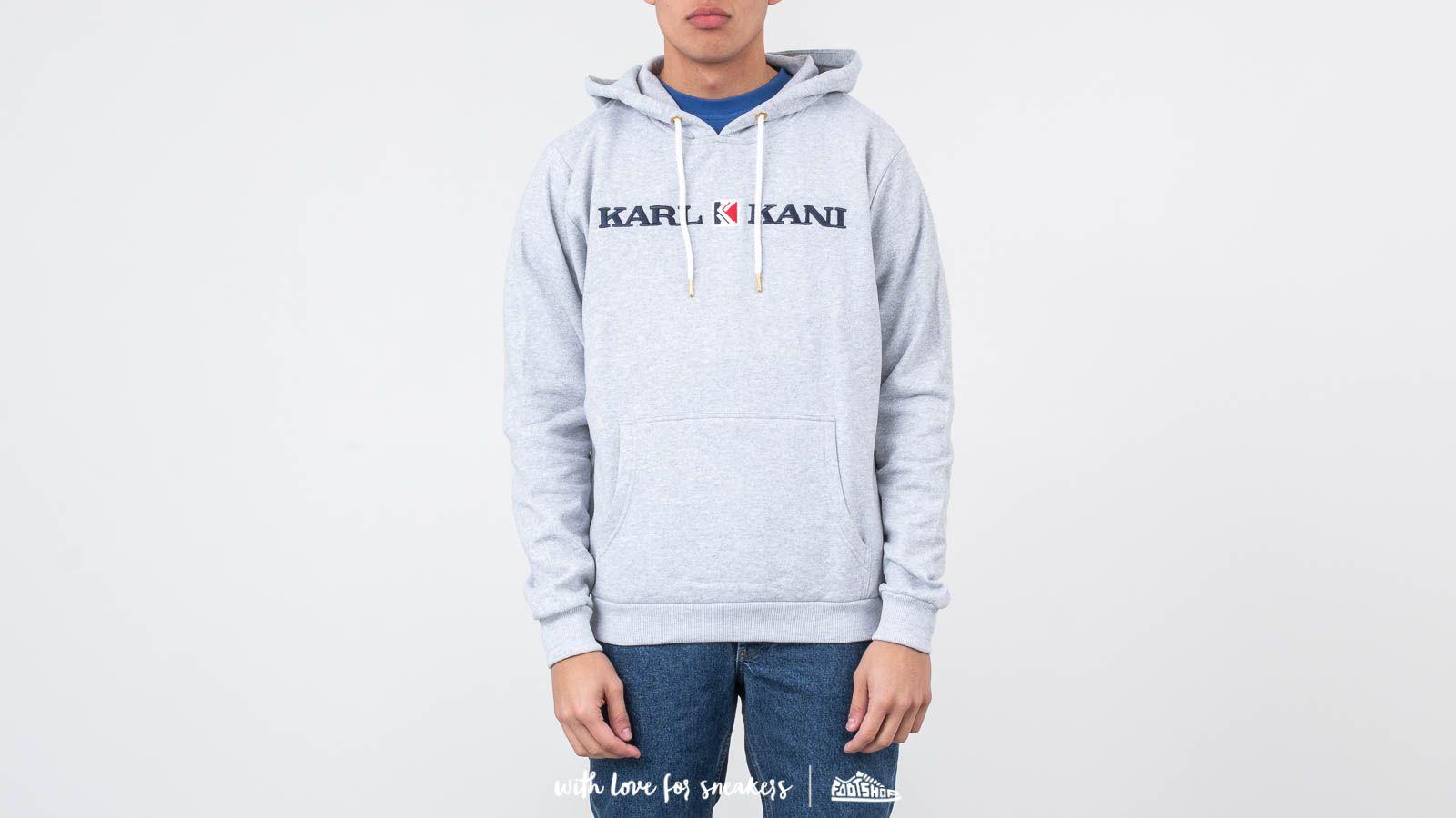 Karl Kani Retro Hoodie Grey za skvelú cenu 68 € kúpite na Footshop.sk