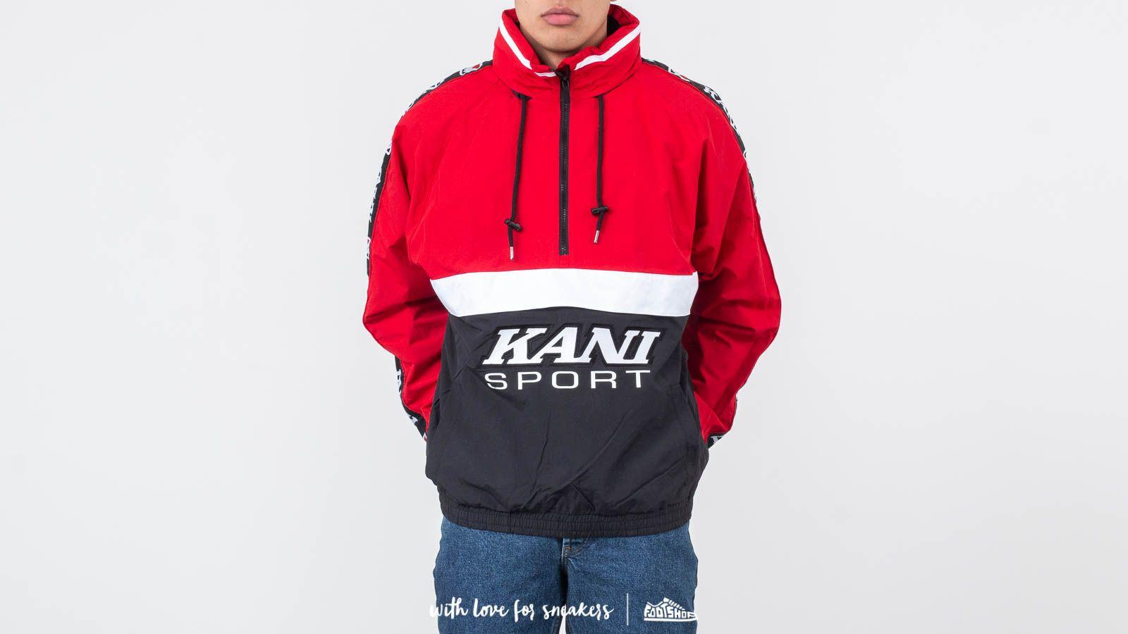 Karl Kani Sport Block Windbreaker Red/ Black za skvelú cenu 77 € kúpite na Footshop.sk
