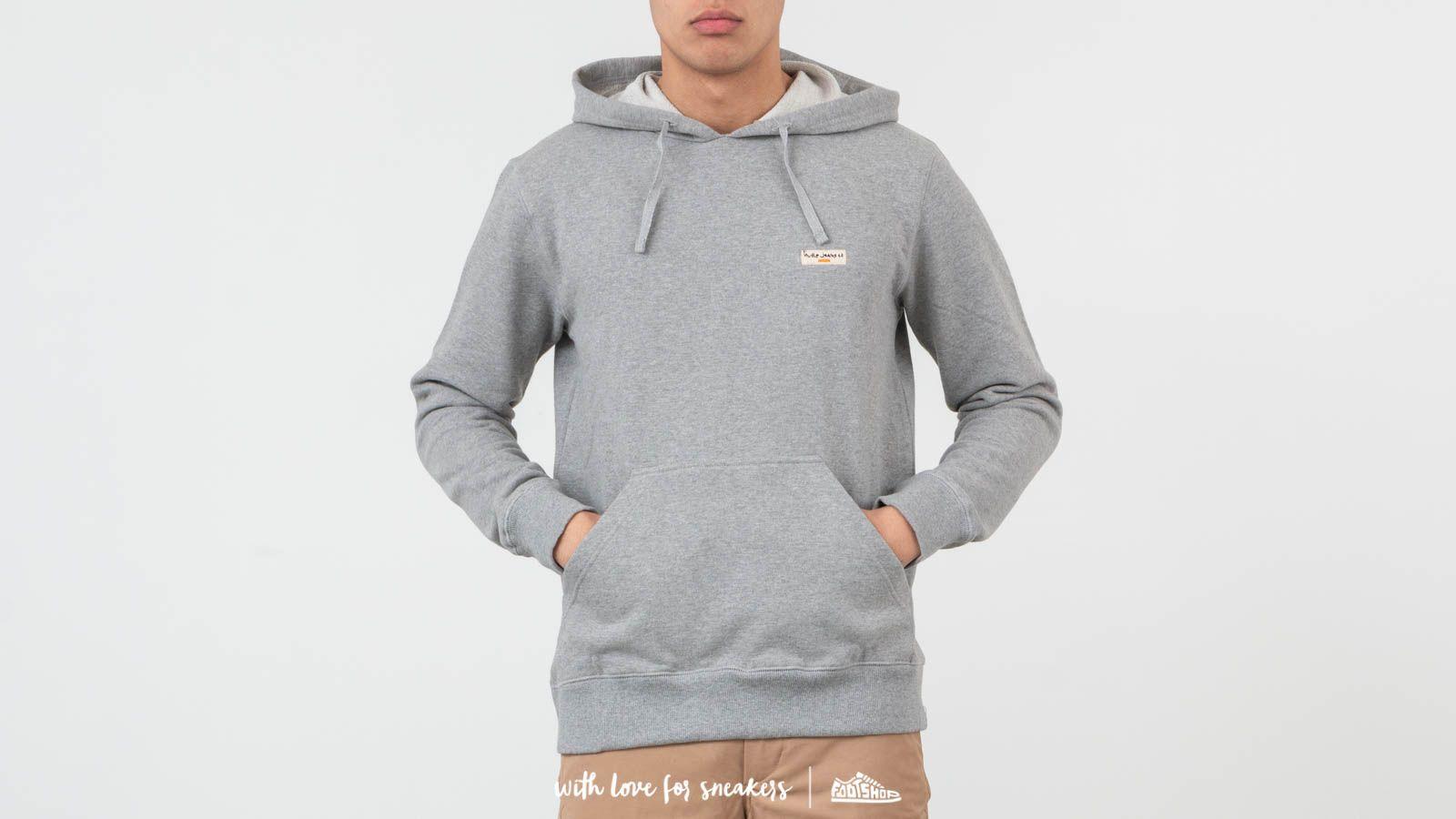 Nudie Jeans Emmet Logo Hoodie