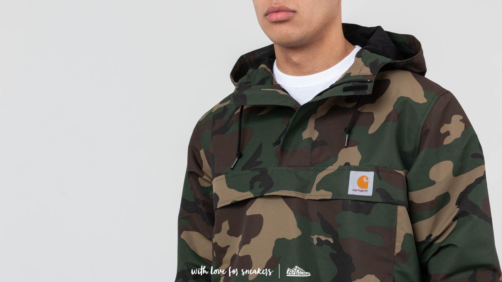 Carhartt WIP Nimbus Pullover Jacket Camo Laurel at a great price 132 € buy  at Footshop 2cd3a289f