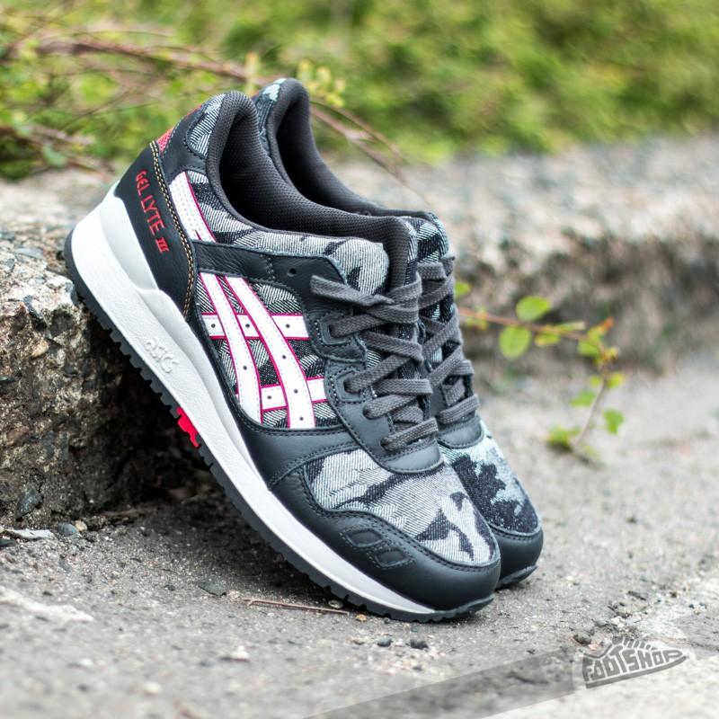 new style a114b 051ee Asics Gel Lyte III Dark Grey/White   Footshop