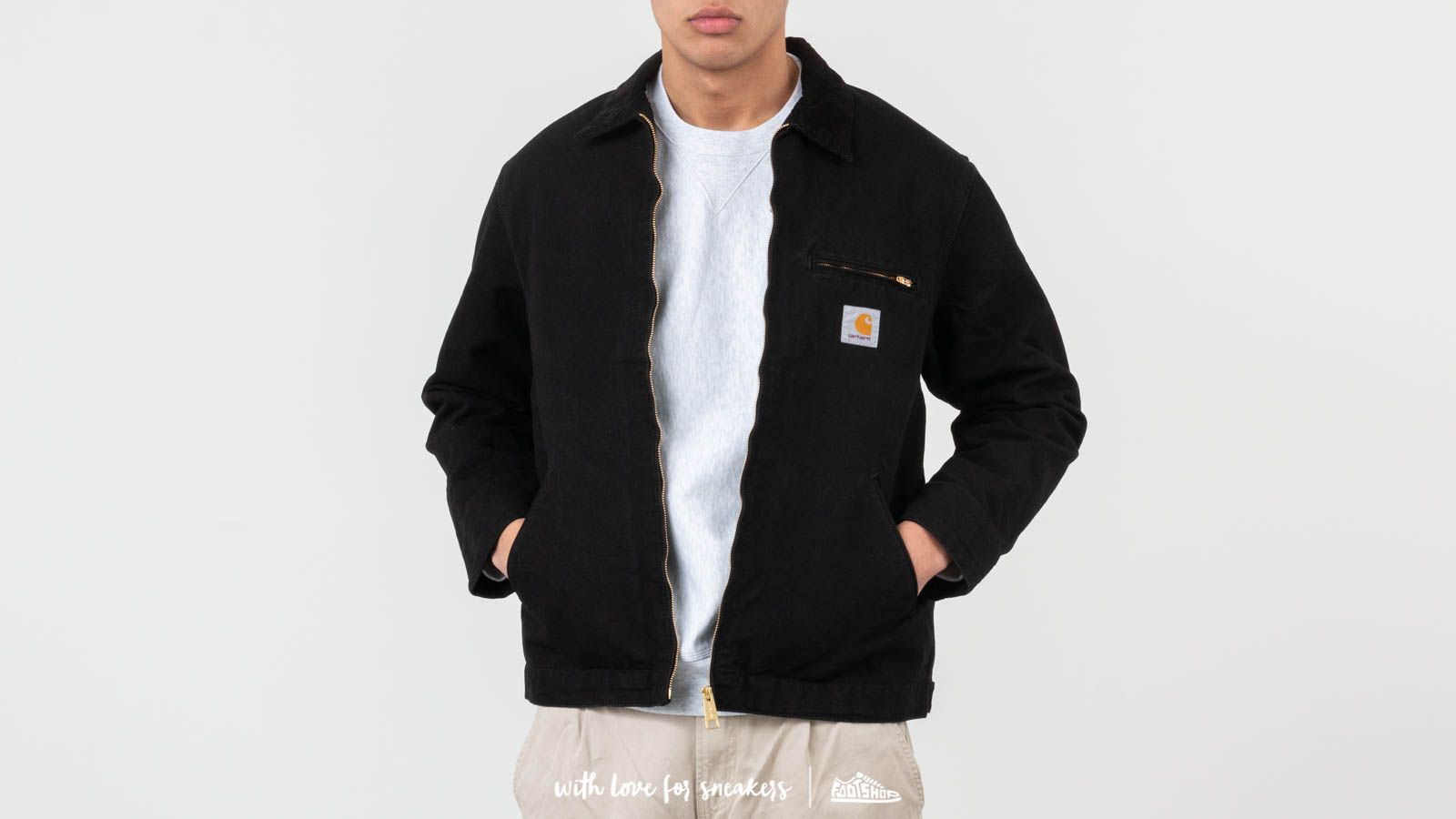 Якета Carhartt WIP Detroit Jacket Black