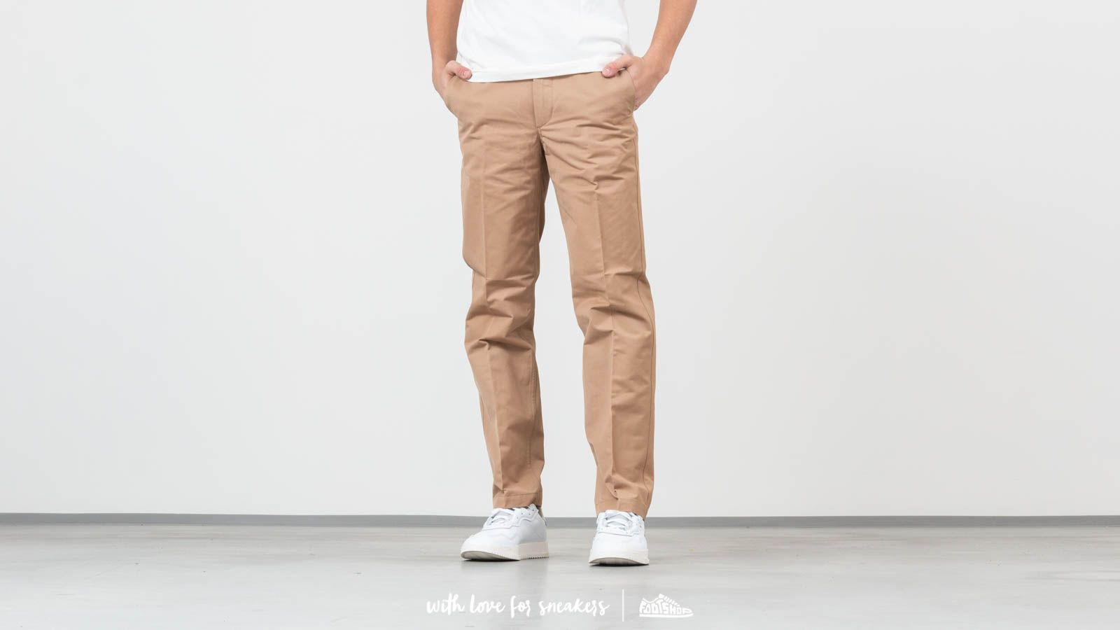 Canvas pants Norse Projects Haga Technical Twill Pants Utility Khaki