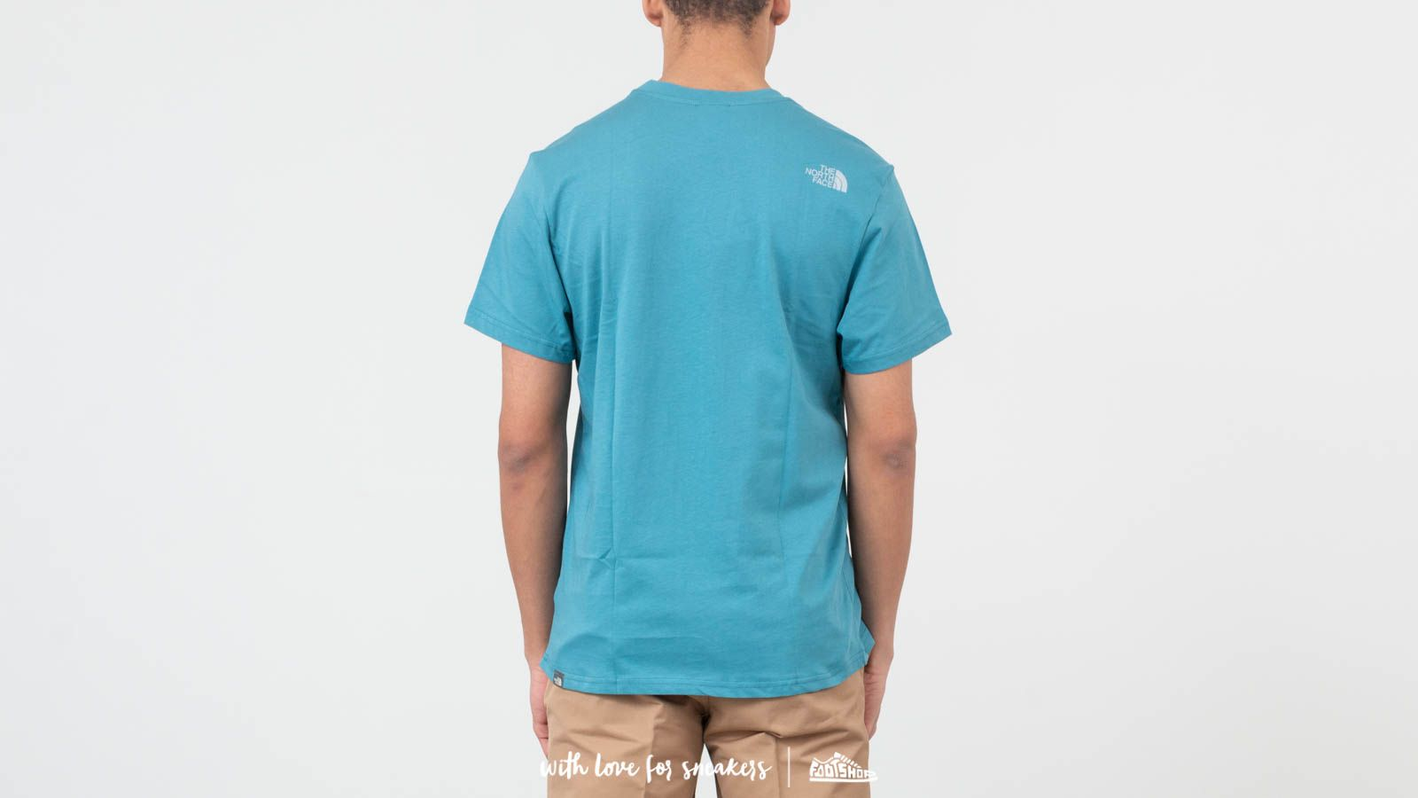 0fb281f995 The North Face Simple Dome Tee Storm Blue au meilleur prix 26 € Achetez sur  Footshop