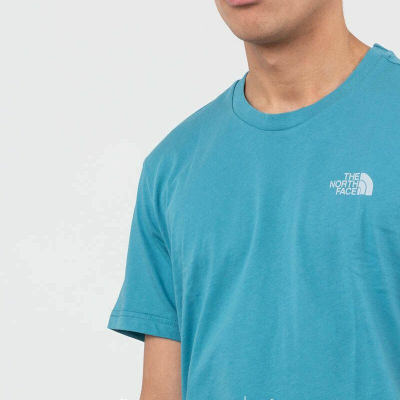 The North Face Simple Dome Tee Storm Blue