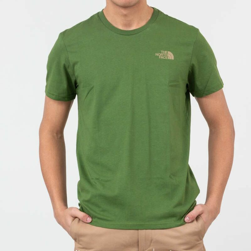 The North Face Simple Dome Tee Garden Green