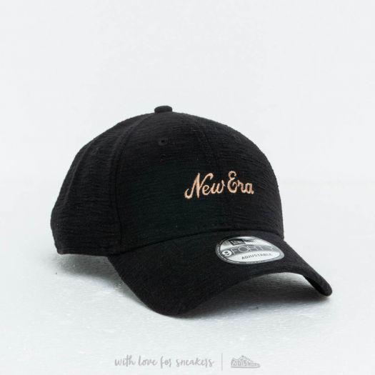 3fe8955b769 New Era 9Forty Slub Snapback Cap Black