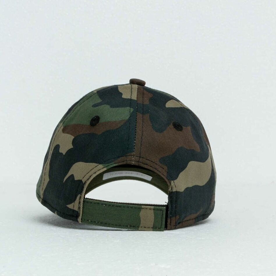New Era Kids 9Forty Superman Character Cap Washed Camo, Green