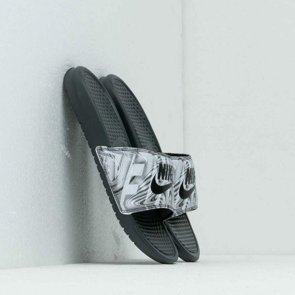 Nike Benassi Jdi Print Anthracite/ Black EUR 44