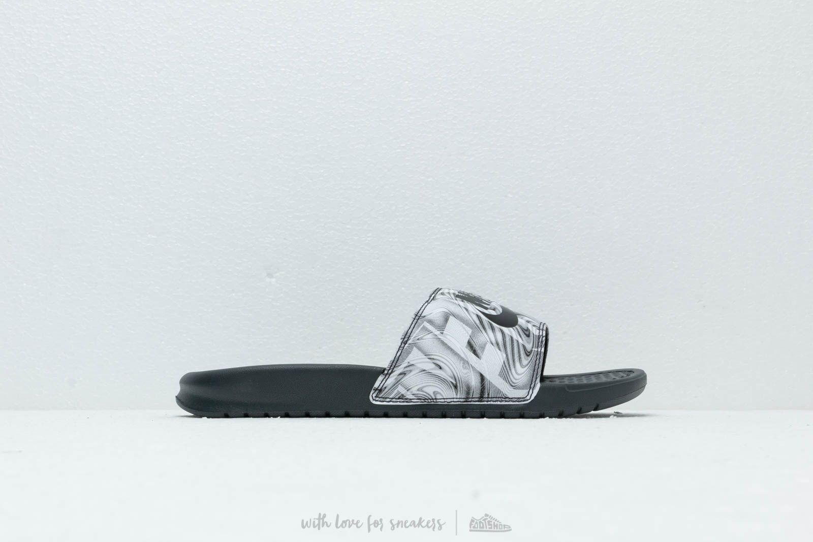 f75590096 Nike Benassi Jdi Print Anthracite  Black at a great price £26 buy at  Footshop