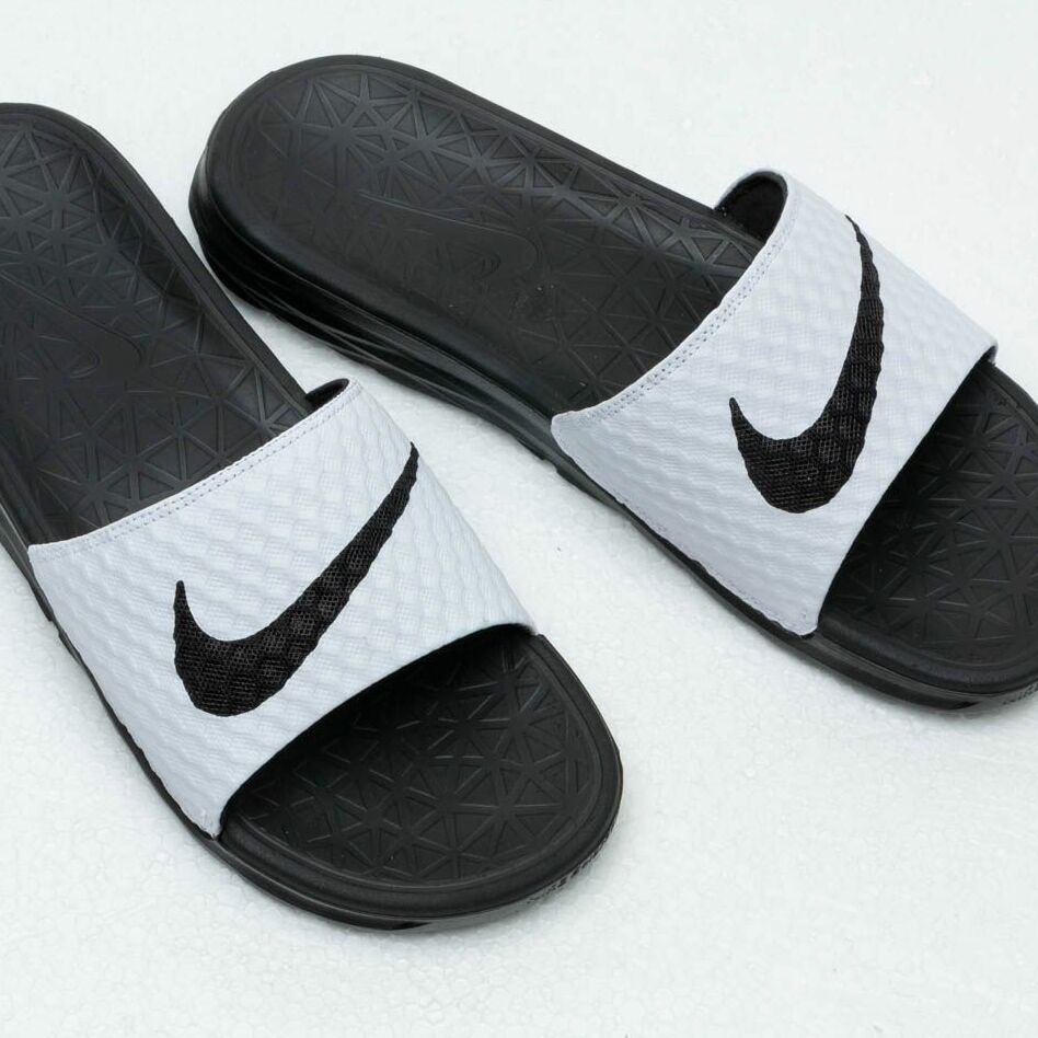 Nike Benassi Solarsoft White/ Black
