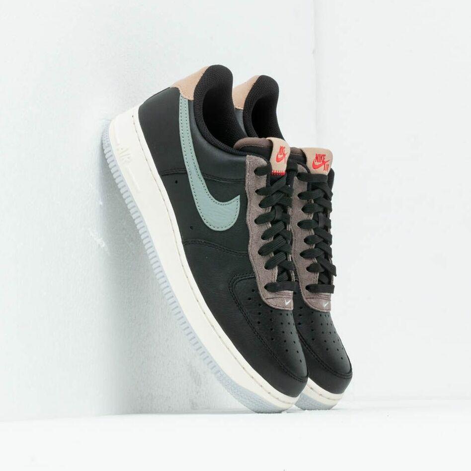 Nike Air Force 1 '07 Black/ Mica Green-Ridgerock EUR 46