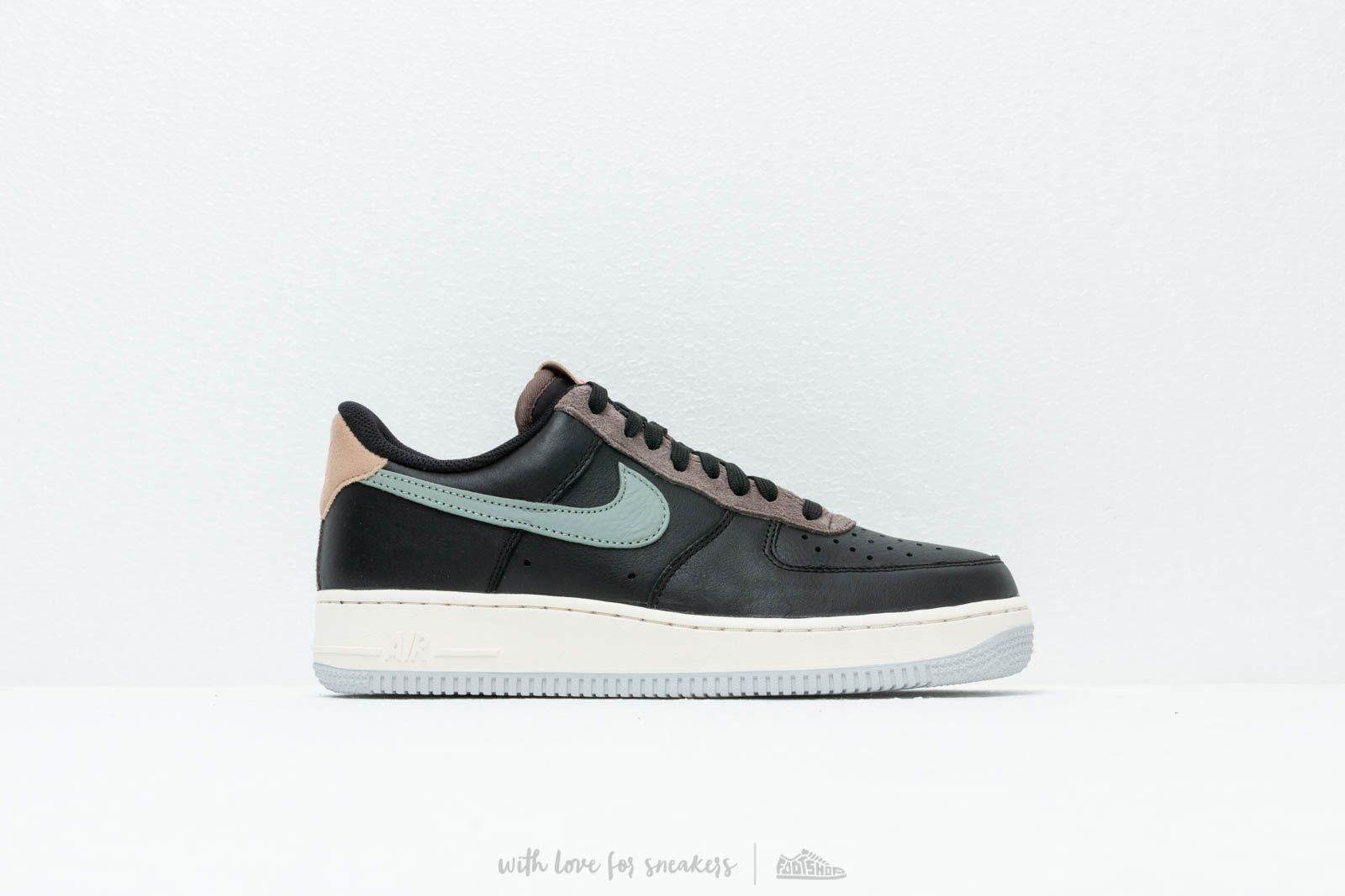 best sneakers 6d7b9 32f8b Nike Air Force 1  07 Black  Mica Green-Ridgerock at a great price