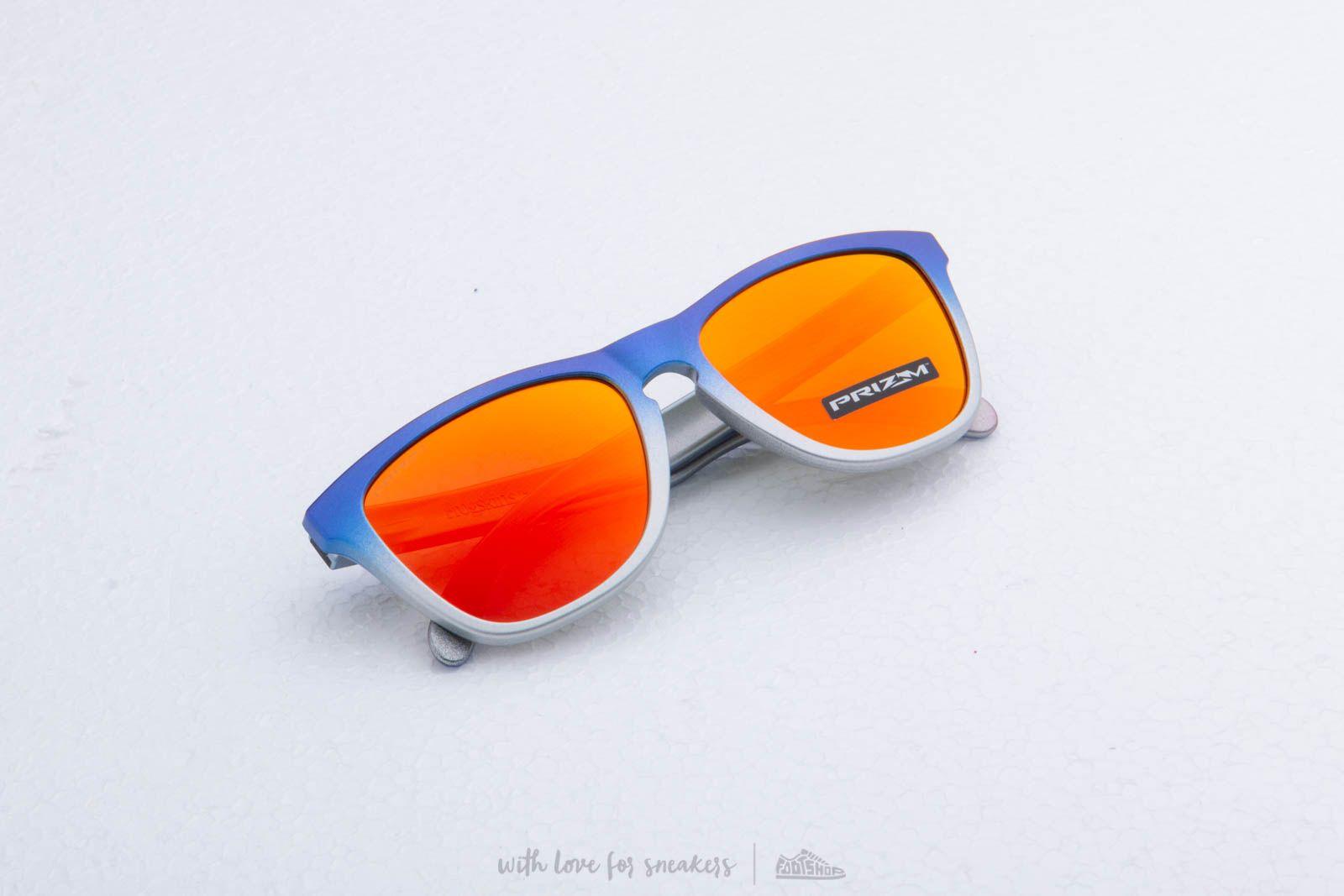 Сонцезахисні окуляри Oakley Frogskins Lite Splatterfade Sunglasses Pink Blue/ Prizm Ruby