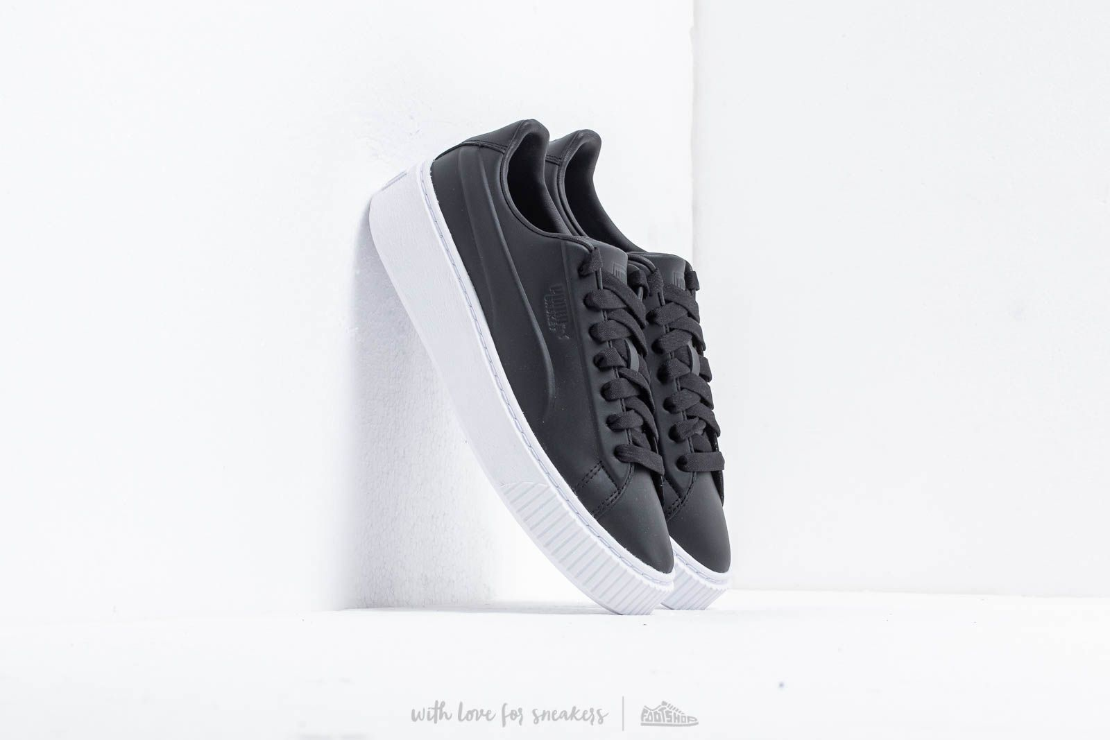 Puma Platform Seamless Wn's Puma Black Puma White | Footshop