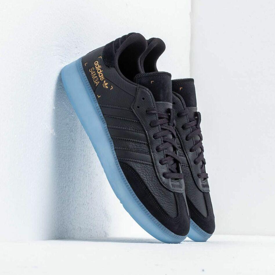 adidas Samba Rm Core Black/ Shocya/ Gold Metalic