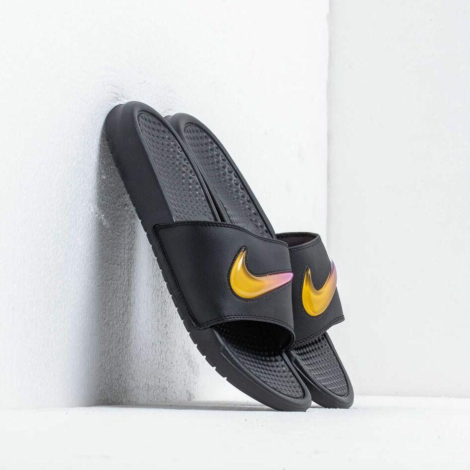 Nike Benassi Jdi Se Black/ Amarillo-Hyper Violet EUR 42.5