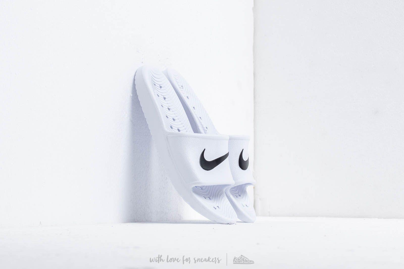 30f3937a58 Nike Wmns Kawa Shower White  Black za skvelú cenu 20 € kúpite na ...