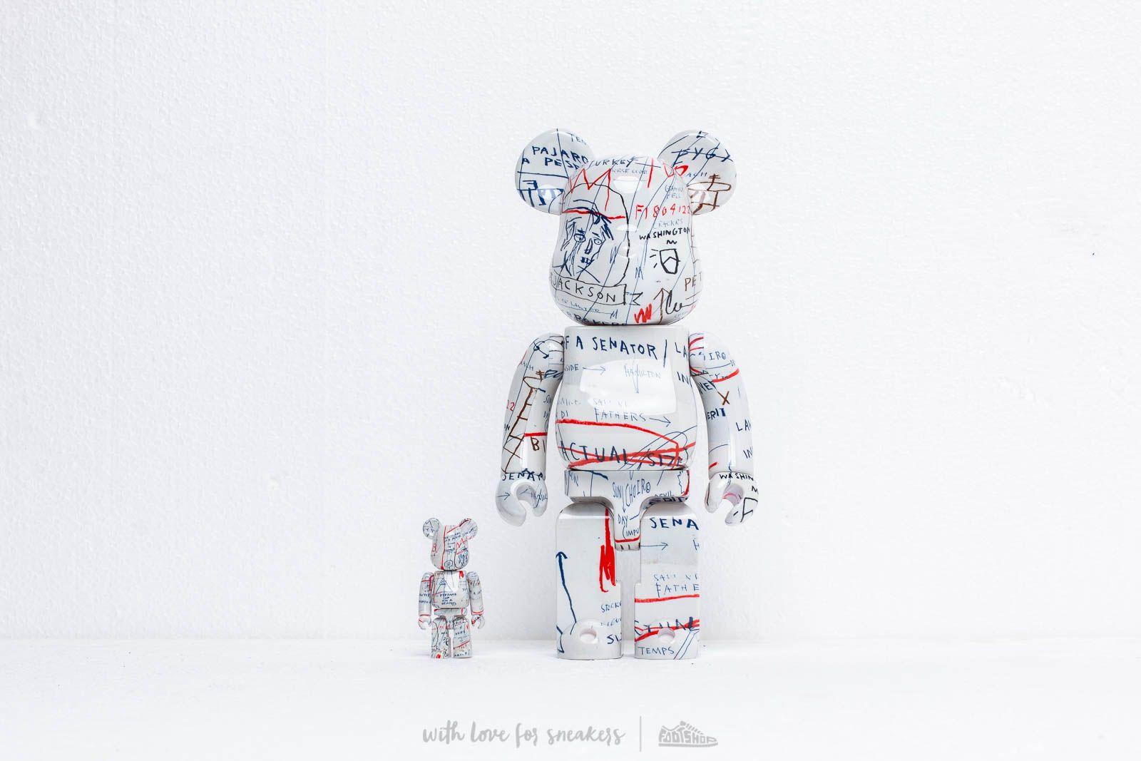 Medicom Toy Be@rBrick Jean-Michael Basquiat 100% & 400% Set