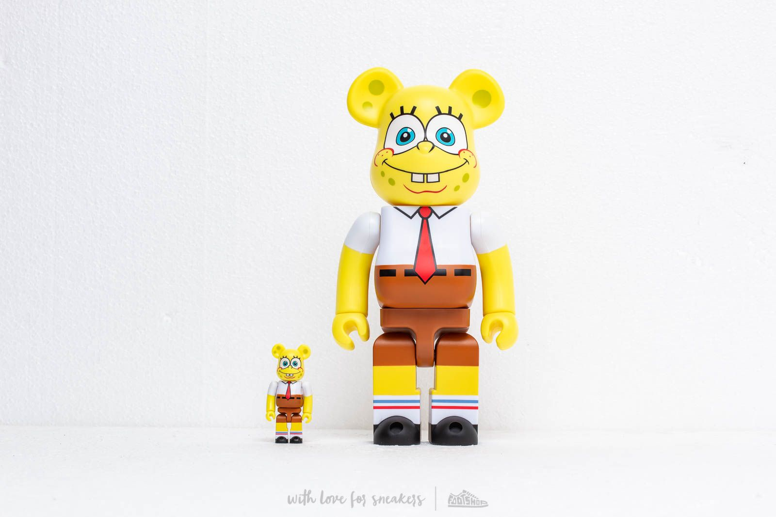 Medicom Toy Be@rBrick SpongeBob 100% & 400% Set