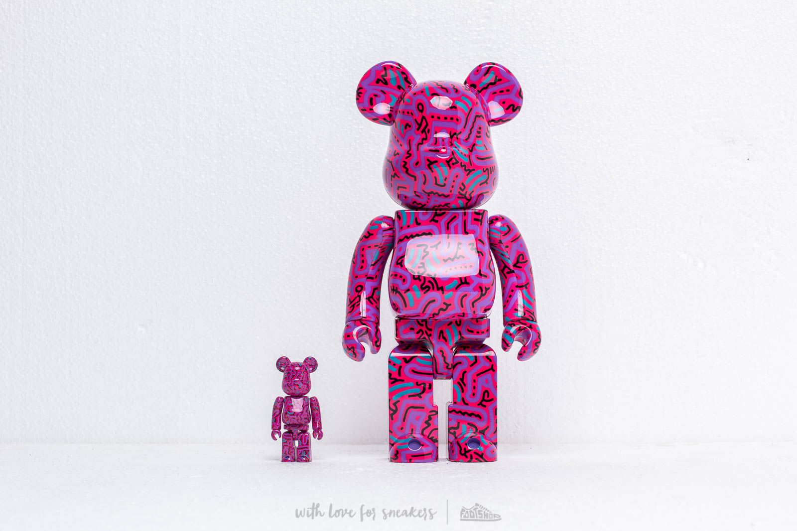Medicom Toy Be@rBrick Keith Haring 100% & 400% Set